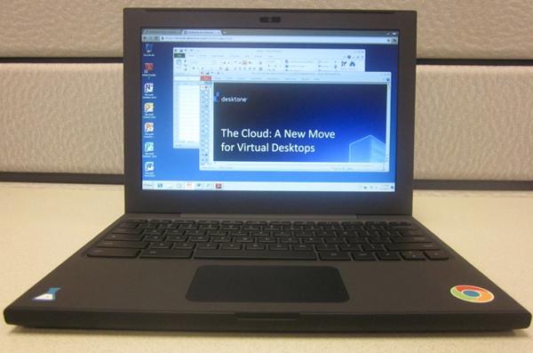 Windows 7 d j accessible dans chrome os via la for Bureau virtuel windows 7