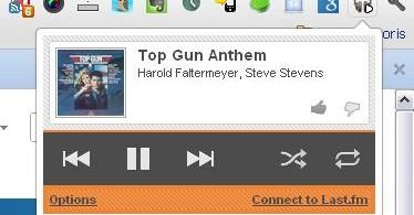 Et oui, j'écoute Top Gun !