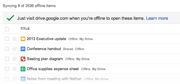 google-drive-offline-screenshot