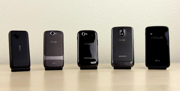 évolution-des-google-phones-en-vidéo-630x318