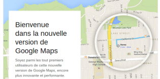 Avant-premire de Google Maps, invitation reue !