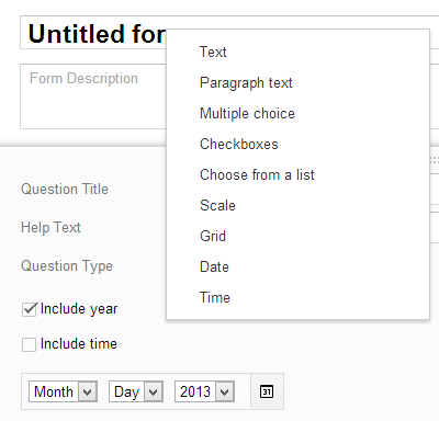 google-forms-question-types