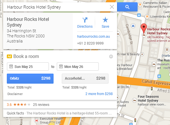 google-maps-hotel-booking