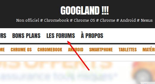 Note de service] Googland se dote d'un nouveau forum