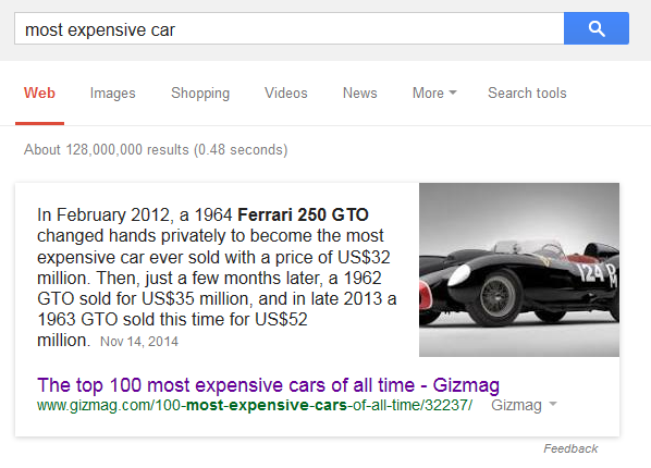 google-quick-answer-date