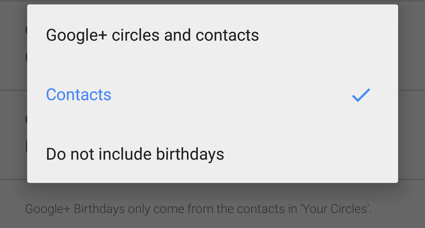 google-calendar-android-app-settings-birthdays-contacts-google+-none