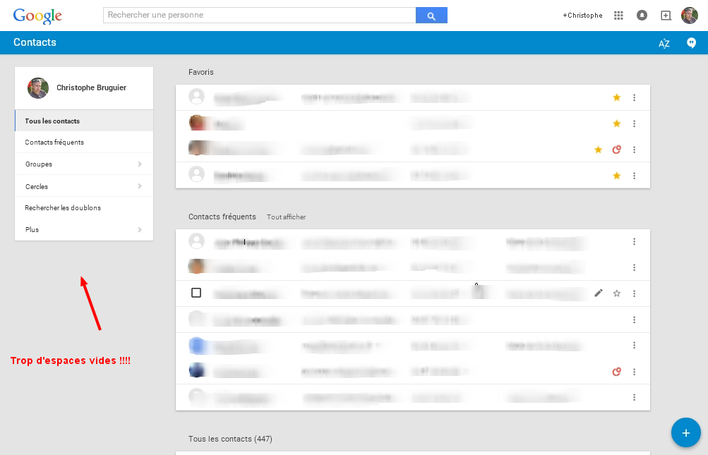google-contacts-espace-vide