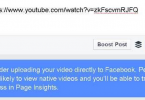 Facebook-message